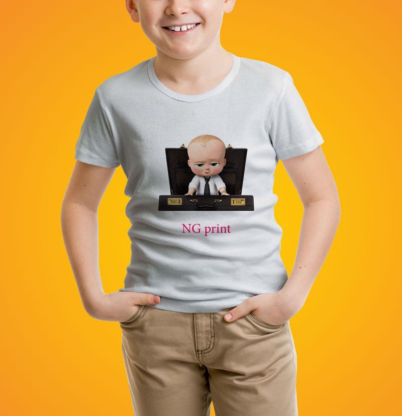 چاپ لباس بچهگانه